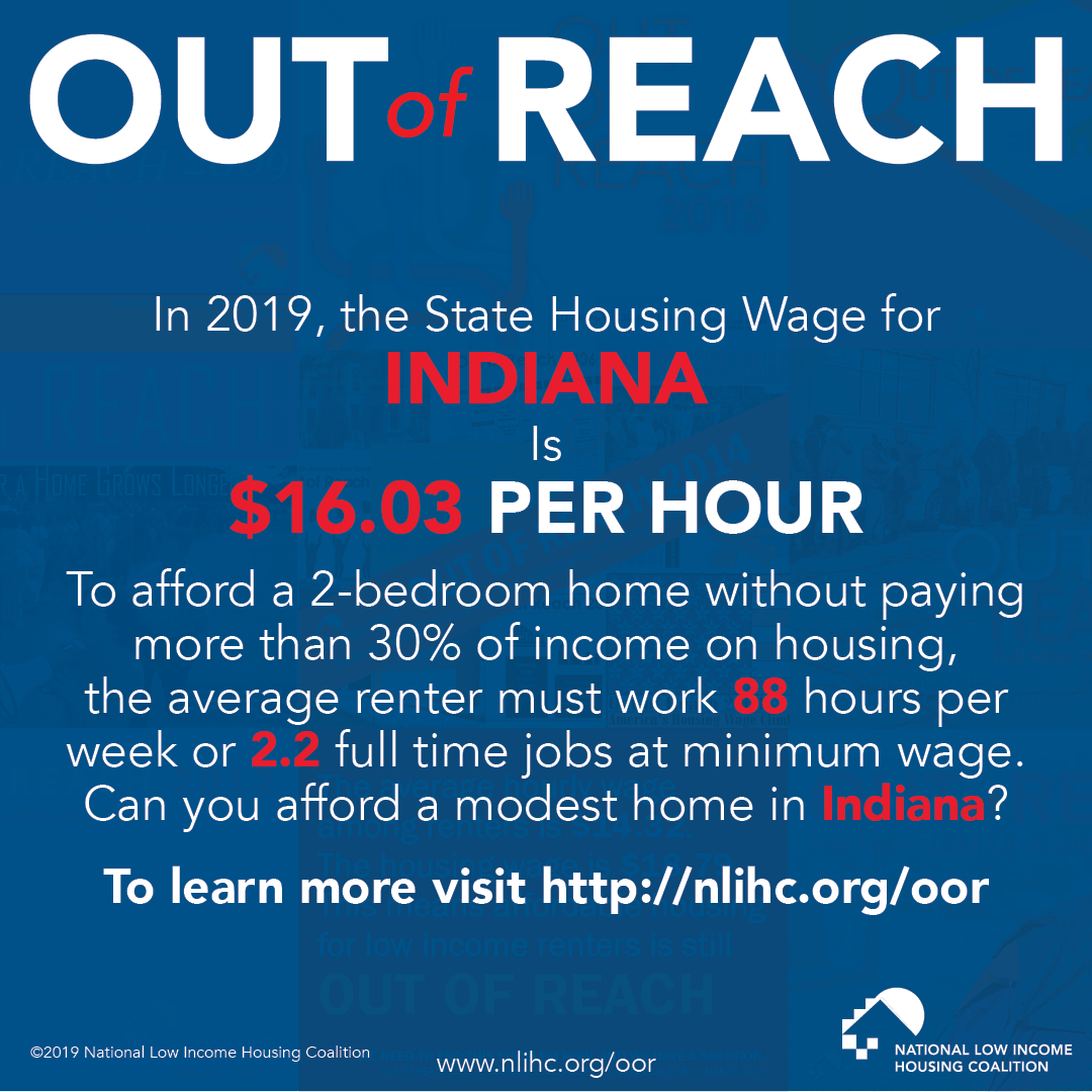 Prosperity Indiana Report Released Today Affordable Housing Further Out Of Reach For Average Low Income Hoosier Renters